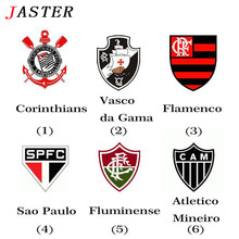 JASTER Brazil Football Club Badge Sport Souvenirs Usb Flash Drive 8GB Corinthians/Flamengo/Santos/palmeiras Team Logo