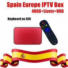 Buy Spanish IPTV Android 6.0 TV Box 8G AVOV Tvonline+ Nordic Europe Spain Dutch IPTV Eternally Channels smart tv box Better X96 for $78.84 in AliExpress store