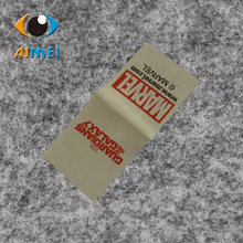 Wholesale/Customized eco-friendly Polyester ribbon printed labels fashion clothing shoes label main label free shipping 500/lot
