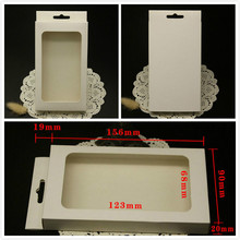 Cell Phone Case OEM Blank Retail Package Plastic Paper Box Packing for iPhone 7 6 5 4 Galaxy S3 S4 Note2 Case with inner Tray