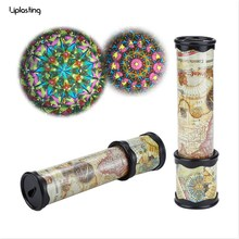 21cm Rotation Cute Classic Colorful Kaleidoscope Kids Fancy early Childhood Toys For Baby Children Gift(China)