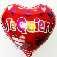 New Spanish happy birthday foil balloons helium balloon for baby shower kids birthday party decoration globos for childrens toys