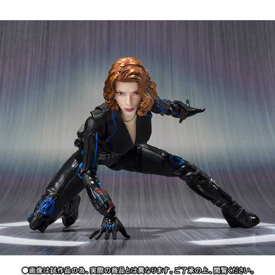 NEW hot 15cm Black Widow Super hero avengers movable action figure toys collection Christmas gift<br>