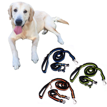 2016 Hands Free Dog Leash Nylon Dog Training  Leash Collar For Running Work,Hiking With adjustable traction Rope