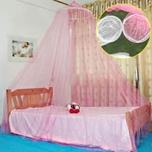 4 Farben Aulic Elegante Runde Spitze Moskitonetz Wiege Ger Stil Bettdecke  Baldachin(China)