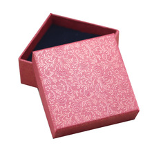 Box For Jewelry Free shipping wholesale 40pcs/lot Necklace Pedant Jewellery Packaging Gift Box 8.5*8.5*3.5cm Ring Earring Boxes