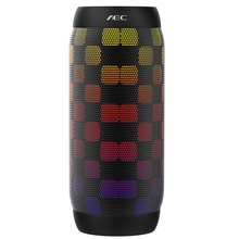 AEC BQ 615 Mini Speaker colorful Waterproof LED light Portable Bluetooth Speaker Wireless Super Bass Flashing Lights FM Radio