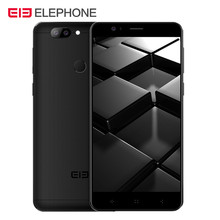 Elephone P8 Mini 5.0'' 13.0MP+5.0MP Dual Back Cam Android 7.0 Smartphone MTK6750T Octa Core 4G Mobilephone 4GB 64GB Fingerprint(China)
