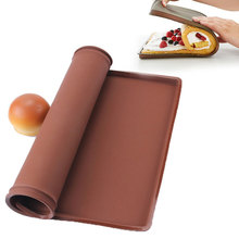 Non-Stick Silicone Baking Mat Pad Swiss Roll Baking Sheet Rolling Dough Mat Large Size for Cake Cookie Macaron