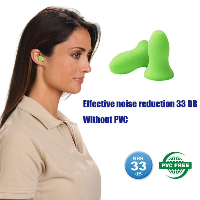 5Pairs New Soft Foam Ear Plugs Travel Sleep Noise Prevention Earplugs Noise Reduction For Travel Sleeping Health Boxed