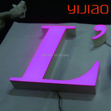 3D design electric company logo design acrylic letter(China)