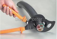 Lightweight top quality, latest German ratcheting cable cutter,cut 600 square,cable scissor tool,cutting machine