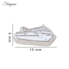 20pcs/lot New Design DIY Accessories Cruise Ship Floating Locket Charms for Living Memory Locket Zinc Alloy