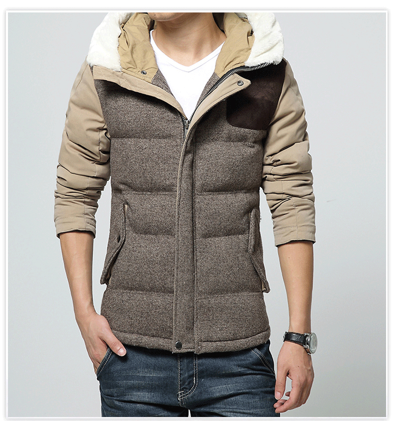 Mens parkas winter mens short coat thick keep warm jacket men teenagers cotton outerwear casual parkas khaki men topsОдежда и ак�е��уары<br><br><br>Aliexpress