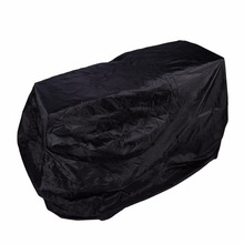 Universal Waterproof Outdoor BBQ Cover Garden Gas Charcoal Electric Barbeque Grill Protective Cover 170 x 61 x 117cm Black(China)