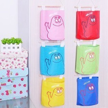 LASPERAL New Fashion Assorted Cartoon Multicolored Storage Bag Oxford Cloth Pouch Bag Handbag Bags Debris Storage Bag