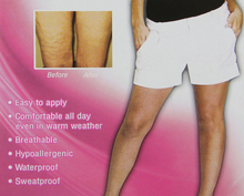 Instant thigh lift makes thighs look firm and younger slimming thigh leg shaping transparent lifting strips AS SEEN ON TV.(China)
