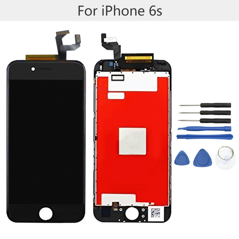 "Brand New 4.7"" Display Parts for Apple iPhone 6S LCD screen replacement with tool kits LCD touch screen digitizer assembly(China (Mainland))"