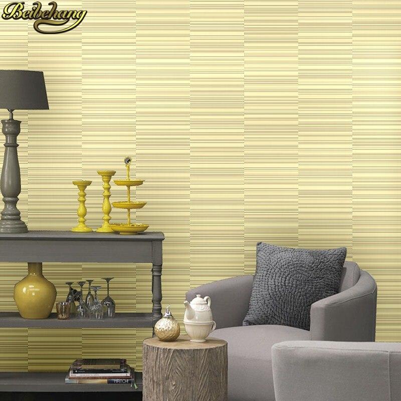 beibehang wall paper. Pune nostalgic retro irregular horizontal stripes non-woven mottled backdrop wallpaper bedroom living room<br>