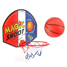 Hot Style Portable universal safe Twitfish Mini Basketball Fans Set Basket Ball Hoop Sport Game for NBA Lover All Age Home Decor