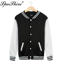 spring winter Baseball jacket clothes women's casual long-sleeved sweater coat hoodies sweatshirt warm and comfortable JT030(China)