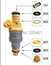 Electronic Fuel Injection Repair Fitting Accessories For Fuel Injector Cleaner 200pcs/lot