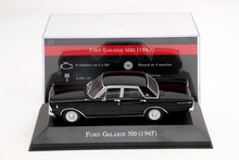 IXO 1:43 Scale Ford Galaxie 500 1967 Auto Show Models Cars Collection Diecast Models Toys Cars(China)