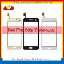 "5.0""For Samsung Galaxy Grand Prime Duos G530 G530H G530F Touch Screen Digitizer Outer Glass Lens Panel Black White+Tracking Code"