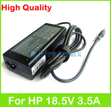 18.5V 3.5A 65W laptop AC power adapter for HP Special Edition L2000 Voodoo for Envy 133 NV4000 charger