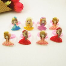 8pcs/Lot Wholesale Mixed styles Flower Finger Rings Children Girls Favorite Adjustable Princess Cartoon Animal Ring Jewelry
