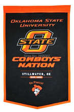 Oklahoma State University Cowboys College Basketball Banner Flag Polyester grommets 3' x 5' Custom metal holes Football Flag(China)