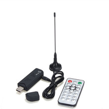100pcs/lot RTL-SDR / FM+DAB / DVB-T USB 2.0 Mini Digital TV Stick Dongle SDR with RTL2832U & R820T Tuner Receiver+Remote Control