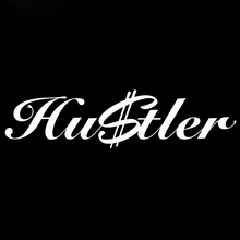 Hustler Sticker Money Funny Fresh Hip Hop Jdm Drift Dollar Lowered Vinyl Decal Car Styling Car Window Graphics Jdm(China)