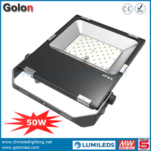 China golden supplier 3 years warranty 100-277VAC 110Lm/W 50 watt LED luminaires projector outdoor Luminaria LED 50W