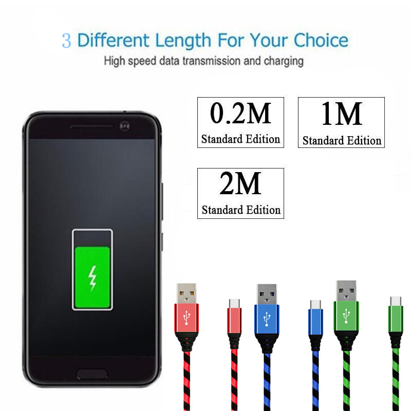 0-2M-1M-2M-3M-Nylon-Braided-Micro-USB-Fast-Charging-Data-Sync-Cable-Charging-Charger_