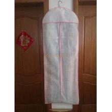 Anti Dust Clothes Cover Bag Bridal Wedding Dress Gown Garment Bag Protector Storage Carry Bag(China)