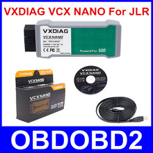 Original VXDIAG VCX NANO For Land Rover and For Jaguar Software Powered For SSD V141 VXDIAG VCX NANO for All Protocols Free Ship