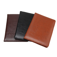 female original designer leather passport holder, summer new arrivals men's cheap passport cover famous brand credit card covers