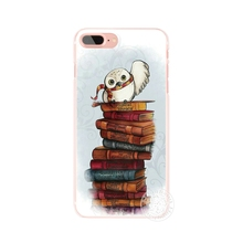 owl book harry potter Cover case iphone 4 4s 5 5s SE 5c 6 6s 7 plus samsung galaxy S3 S4 S5 S6 S7 mini EDGE Note 3 - ShenZhen DXD Co.,Ltd Store store
