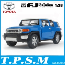 Kinsmart Mini FJ Cruiser Jeep Style SUV Car 1:38 5Inch Diecast Metal Alloy Cars Toy Pull Back Car Gift For Boy Kids