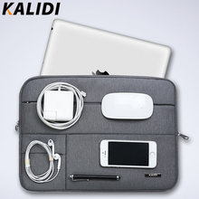 KALIDI Laptop Sleeve Bag Waterproof Notebook case bags For Macbook Air 11 13 Pro 13 15 Retina Surface pro handbags
