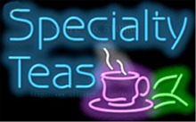 "Specialty Teas Neon sign Glass Tubes Light Bar Beer Club Custom Neon signs Bulbs Store Home Decoration Signboard 17""x14"""