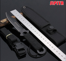 Diving knife Leggings fixed knife tactical knife camping tools hunting survival knives