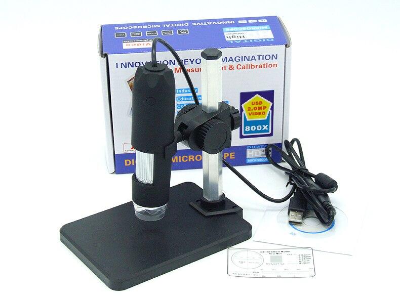 HD 2MP 1-50/200x/300x/400x/500x/600x/800x/1000x  USB Microscope For Measurement Handheld Endoscope<br>
