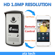 P2P onvif wifi Doorbell Camera 720P wireless Video doorphone