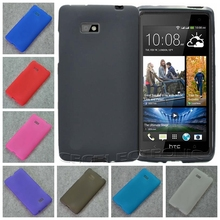 For HTC Desire 600 Dual SIM 606W New High Quality Multi Color TPU Matte Gel Skin Case Cover
