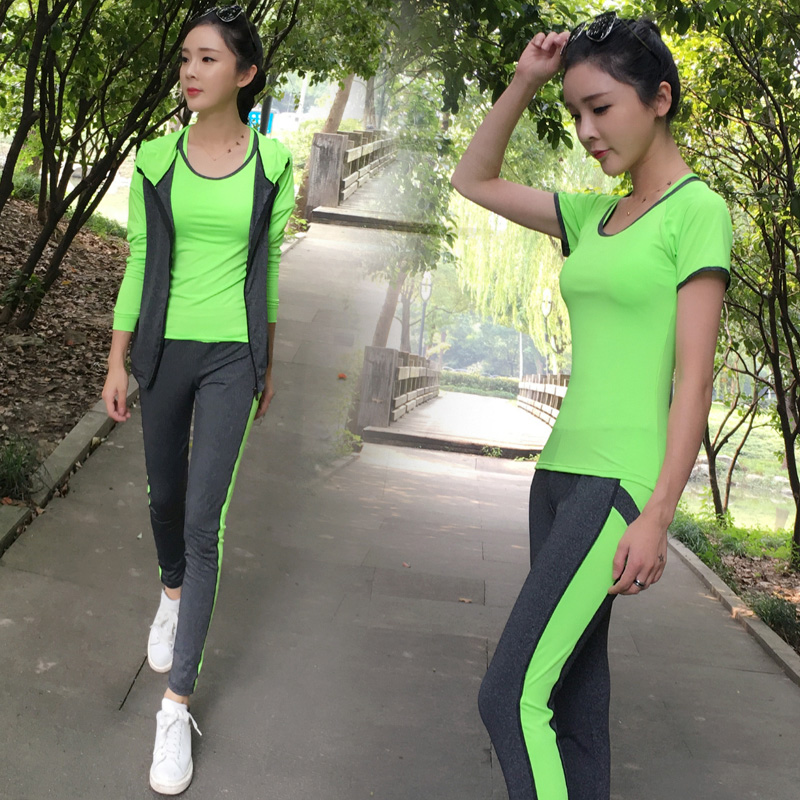 High Quality 3 Pieces in Yoga Set Camouflage Pants &amp; Shorts &amp; Skirt Gym Clothes Sport Wear Training Suit Running Outdoor Jogging<br><br>Aliexpress