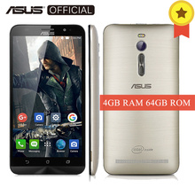 "Original Asus Zenfone 2 ZE551ML 5.5"" Intel Atom Z3580 2.3 GHZ Cell Phones Android 5.0 4GB RAM 64GB ROM 13.0MP 4G Mobile Phone(China)"