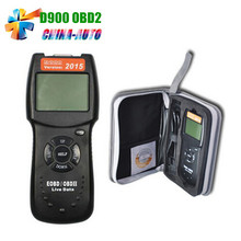 Universal D900 EOBD OBD2 Scanner Car's Engine D900 Code Reader Diagnostic Tool For Multi Brand Cars(China)