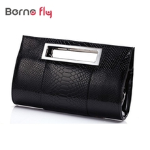 2017 women Casual clutch bag Summer laides small bags Fashion designer Alligator shoulder bags lady party evening Bag(China)